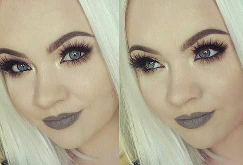 زیباترین مدل آرایش دختران زیبا