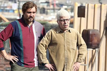 پشت صحنه سریال آقا و خانم سنگی