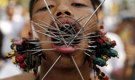 عکس های وحشتناک از جشنواره ای ترسناک!