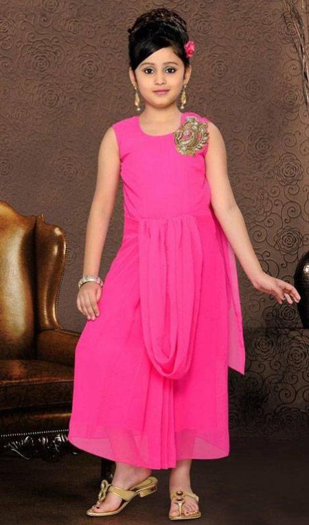 مدل لباس هندی مخصوص دختر بچه ها