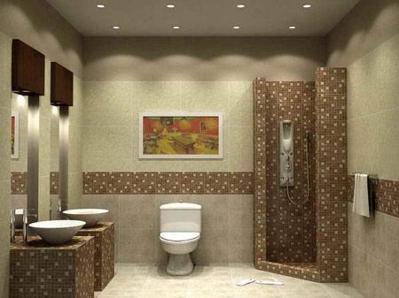 دکوراسیون حمام و سرویس بهداشتی زیبا و جدید