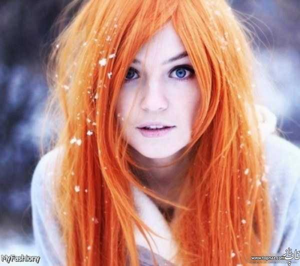 گالری عکس مدل رنگ مو جدید