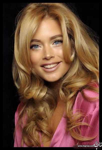 رنگ موی جدید زنانه و دخترانه - رنگ موی قهوه ای و هایلایت جدید - رنگ موهای بلوند و روشن دو رنگ