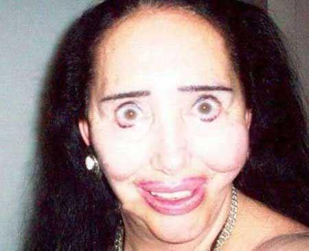 چهره این زنان شما را متعجب (وحشت زده) خواهد کرد!