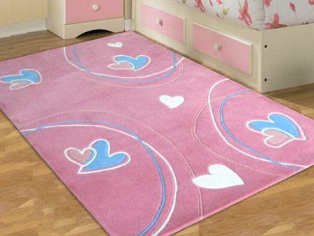 عکس از مدل فرش اتاق کودکان