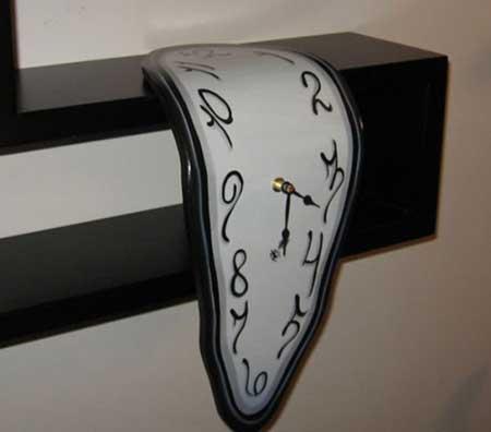 مدل ساعت دیواری متفاوت و خلاقانه