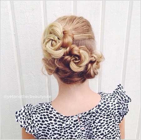 مدل موی دختر بچه ها