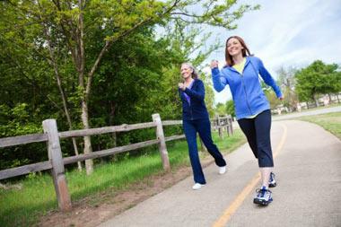 روش درست پیاده روی و نکات قابل توجه