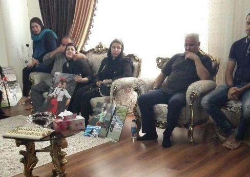 عکس همسر هادی نوروزی با عکسی از همسرش در آغوشش