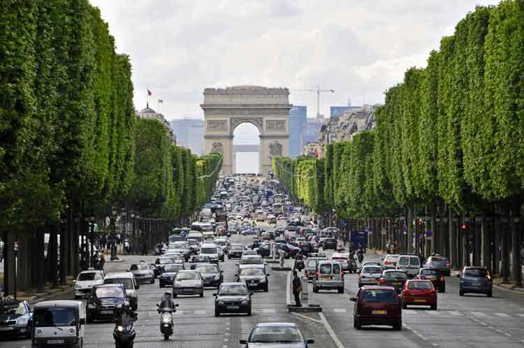 All about Champs-Elysées