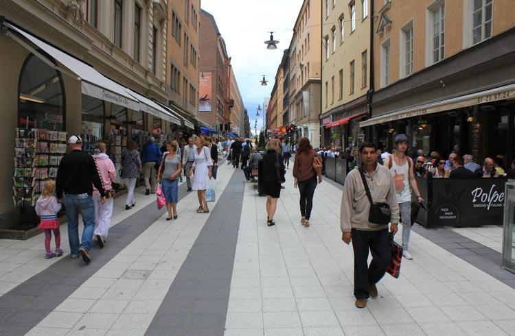 Drottninggatan-Stockholm
