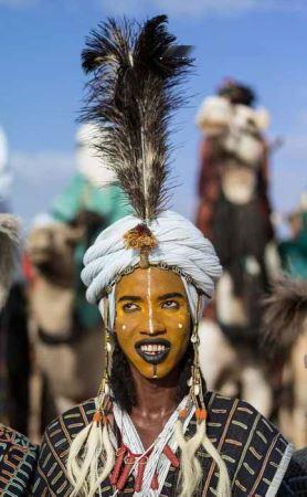 عکس های مراسم انتخاب ملکه زیبایی بین قبایل آفریقایی