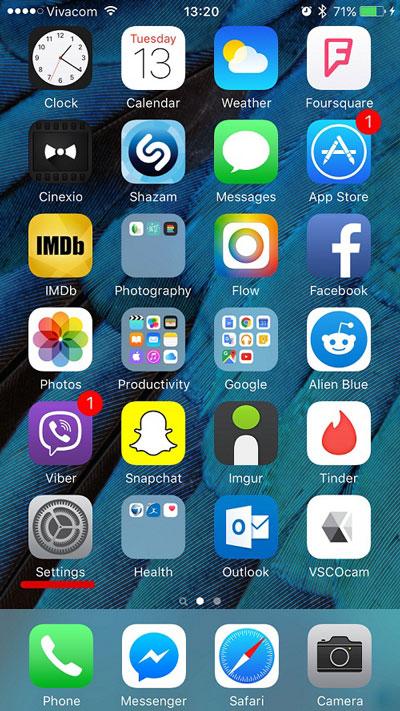سیستم عامل اندروید, سیستم عامل iOS