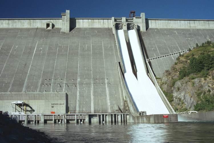 سد Dworshak، ایالت آیداهو (Idaho)، آمریکا