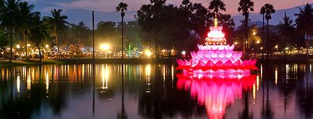 عکس های فستیوال و جشن ماه کامل در تایلند