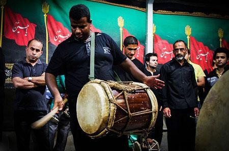 نوحه خوانی بوشهری, سنج و دمام