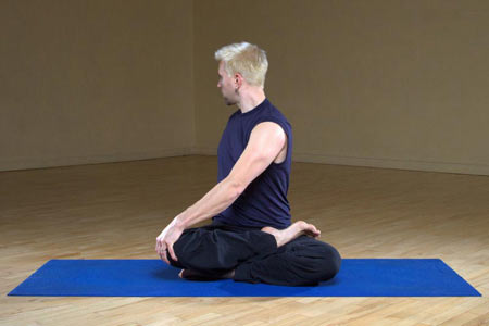 بی خوابی, درمان بی خوابی,حرکات یوگا