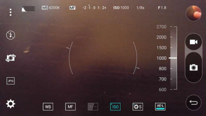 تنظیمات ایزو در دوربین گوشیهای موبایل