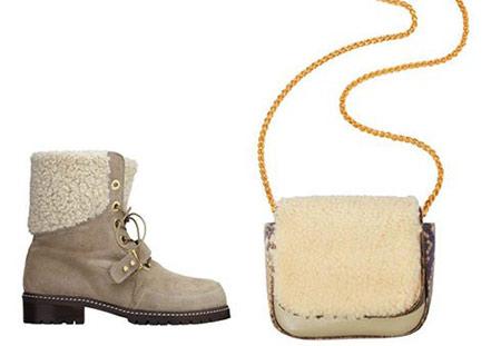 کیف و کفش پاییزی مجله Elle, ست کیف و کفش پاییزی