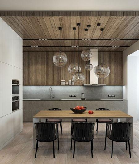 استفاده از چوب در طراحی داخلی دکوراسیون