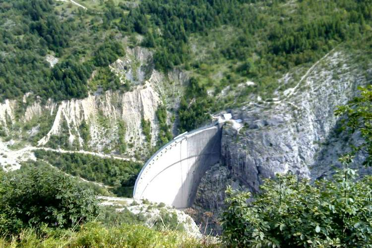 سد Vajont، ایتالیا