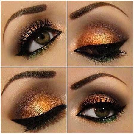جذاب ترین مدل آرایش چشم