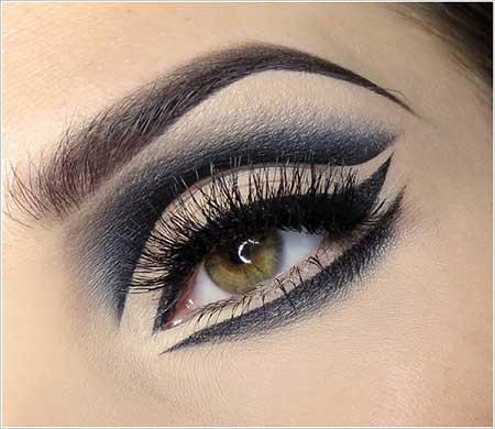 آرایش ترکیبی چشم