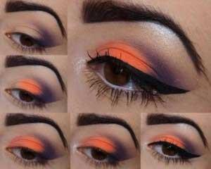 مدل آرایش چشم برای فصل پاییز و زمستان