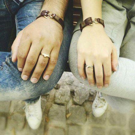 دستبند چرم طرح دار دخترونه
