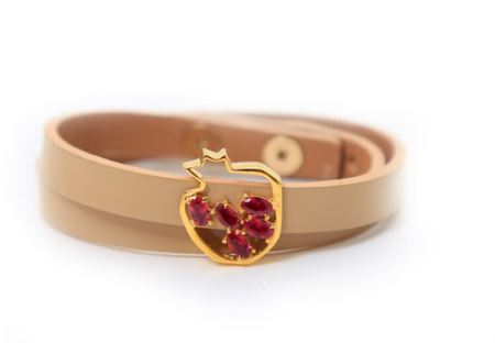 زیباترین مدل دستبند چرم دخترانه و پسرانه