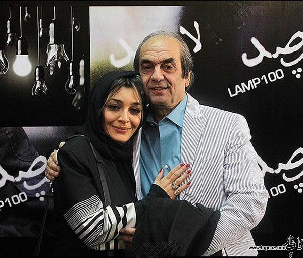 عکس دیده نشده ساره بیات در کنار پدرش