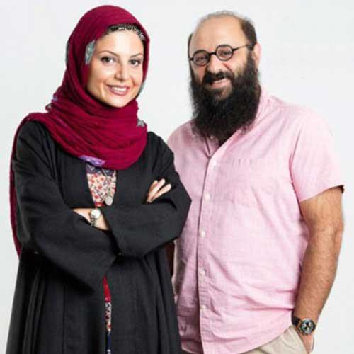عکس دیده نشده سولماز غنی و همسرش