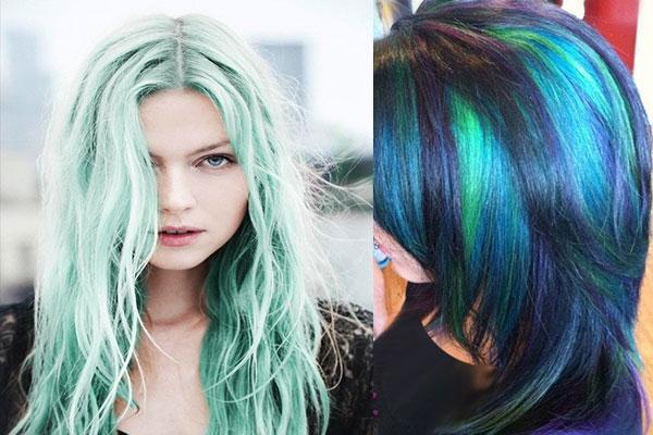 رنگ موهای زیبا و بسیار خاص زنانه