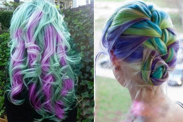 خاص ترین رنگ موی زنانه