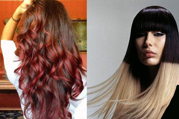 رنگ موهای جدید و زیبای دخترانه