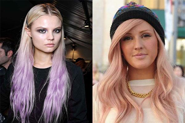 زیباترین مدل رنگ مو