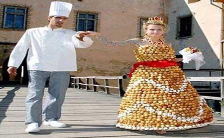 مدل لباس های عروس عجیب و خنده دار!