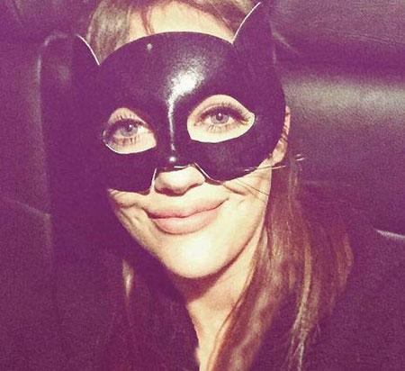 عکس جالب مریم اوزرلی در شب جشن هالووین