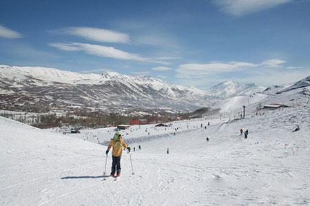 پیست اسکی, پست اسکی تهران,عکس پیست