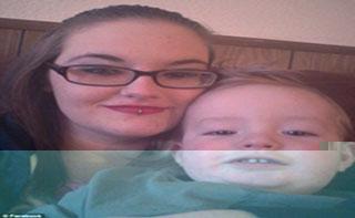زن معتاد بچه 16 ماه اش را با شوک برقی کشت!