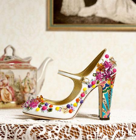 کلکسیون کفش های زنانه دی اند جی ویژه پاییز 2015
