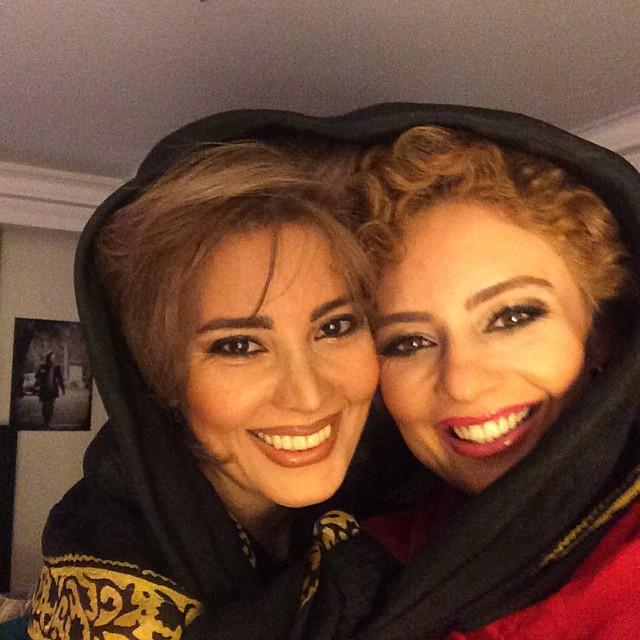 عکس دیده نشده و جالب یکتا ناصر و خواهرش نیکتا