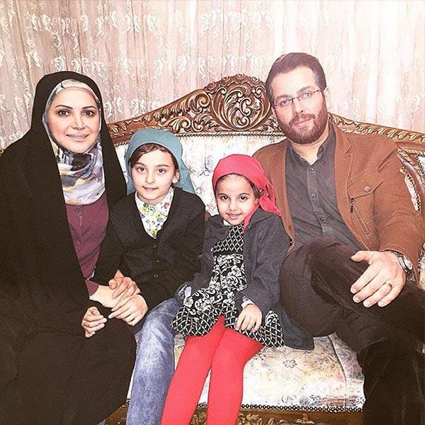 عکس کمند امیرسلیمانی و خانواده جدیدش!