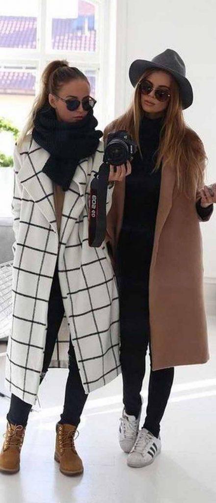 مدل پالتو اسپرت و مجلسی زنانه و دخترانه و راهنمای ست کردن پالتو با لباس ها