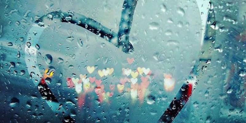 Rain 2 عکس نوشته جذاب و خاص روزهای بارانی و عکس پروفایل بارانی و باران پاییزی عکس