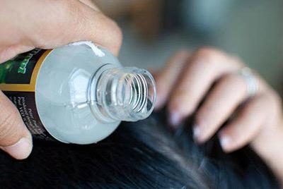 زیبایی مو با روغن نارگیل