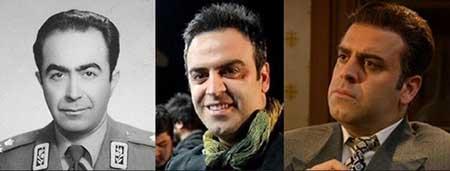 چهره های اصلی سریال معمای شاه قبل و بعد از گریم