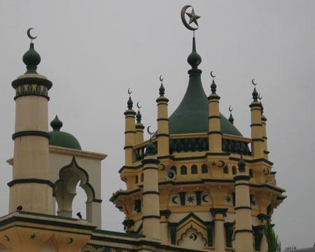 مسجد عبدالغفور,مسجد عبدالغفور در سنگاپور,مکانهای مذهبی سنگاپور