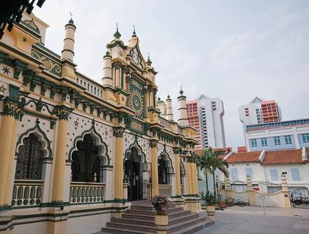 تصاویر مسجد عبدالغفور,مسجد عبدالغفور در سنگاپور,مکانهای دیدنی سنگاپور