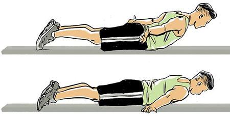 انواع دراز و نشست,تقویت عضلات بدن,سفت کردن عضلات شکم